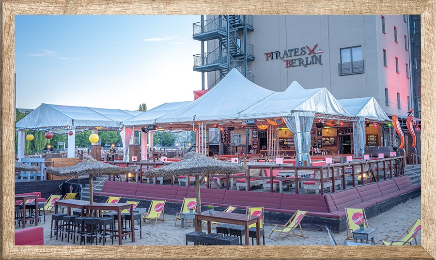 Pirates Restaurant - Riesen Pizzen